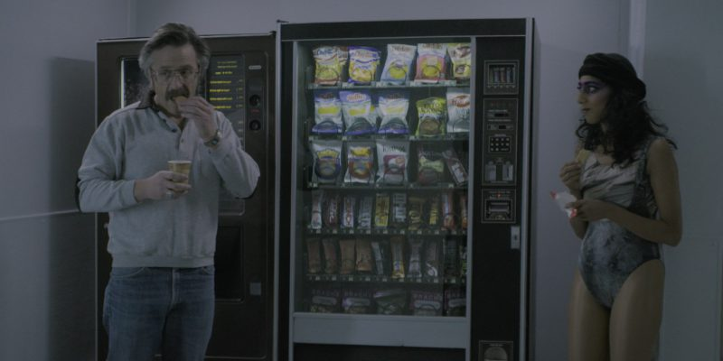 "Cheetos, Doritos, Ruffles, Fritos, Sun Chips, Tostitos, Hershey's, M&M's in Glow Season 2 Episode 7 ""Nothing Shattered"" (2018) TV Show Product Placement"