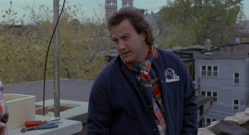 Chicago Bears NFL Bomber Jacket Worn by Jim Belushi in About Last Night… (1986) Movie Product Placement