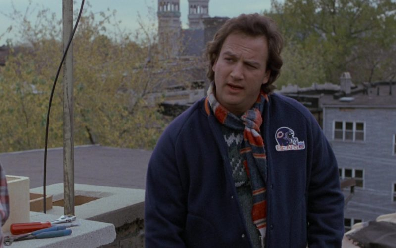 Chicago Bears NFL Bomber Jacket Worn by Jim Belushi in About Last Night (3)
