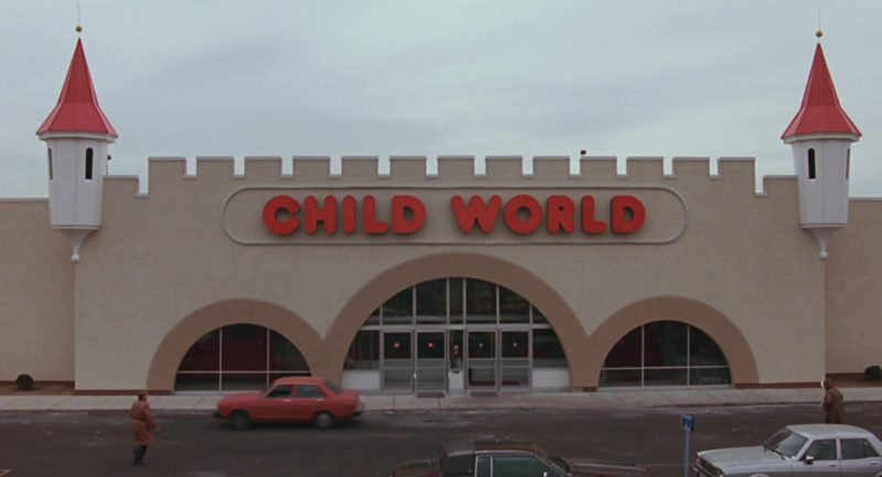 Child World Toy Store in The Color of Money (1986) Movie Product Placement