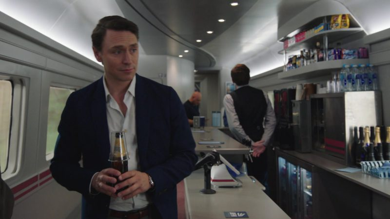 "Cobra Beer in The Romanoffs S1E8 ""The One That Holds Everything"" (2018) - TV Show Product Placement"