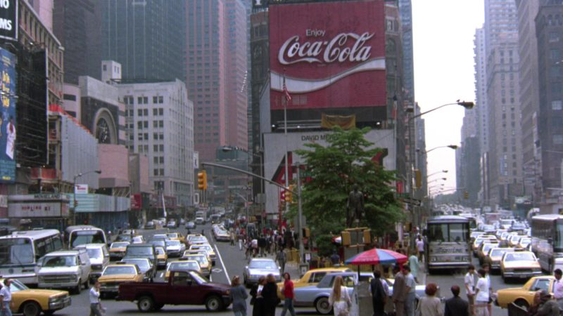Coca-Cola Billboard in Gremlins 2: The New Batch (1990) - Movie Product Placement