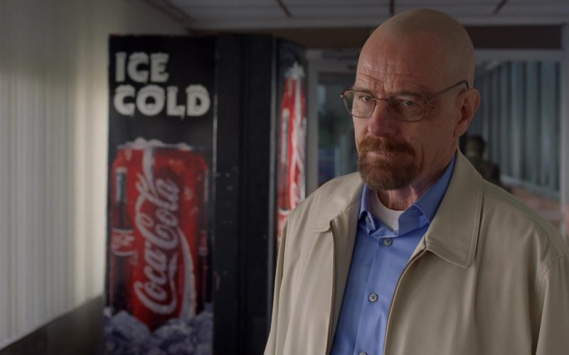 Coca-Cola Ice Cold Vending Machine in Breaking Bad Season 5 Episode 13 (2)