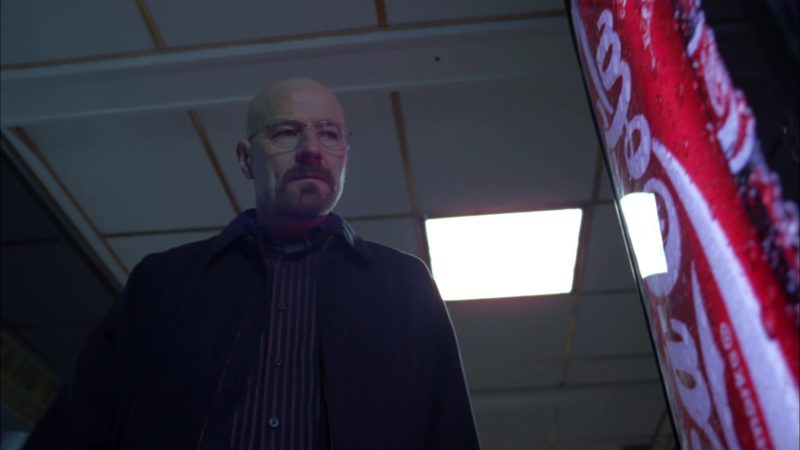 "Coca-Cola Vending Machine in Breaking Bad Season 4 Episode 6 ""Cornered"" (2011) TV Show Product Placement"