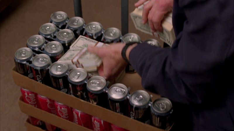 "Coca-Cola Zero and Coca-Cola in Breaking Bad Season 4 Episode 7 ""Problem Dog"" (2011) - TV Show Product Placement"