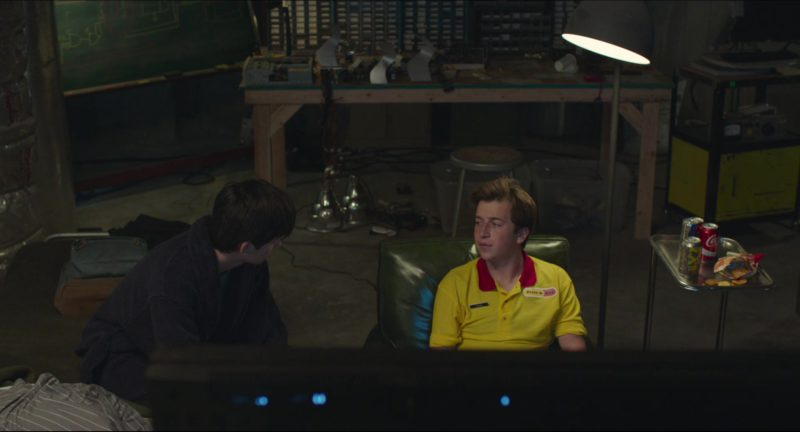 Coca-Cola in Time Freak (2018) - Movie Product Placement