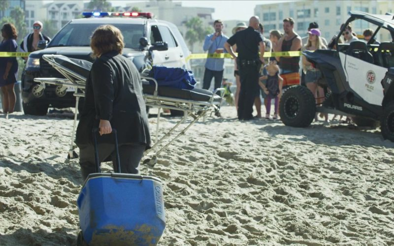 Coleman Cooler with Wheels used by Melissa McCarthy in The Happytime Murders (2)