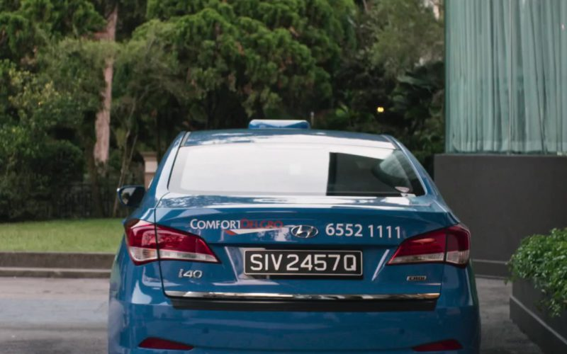 ComfortDelGro Taxi Car in Crazy Rich Asians (2)
