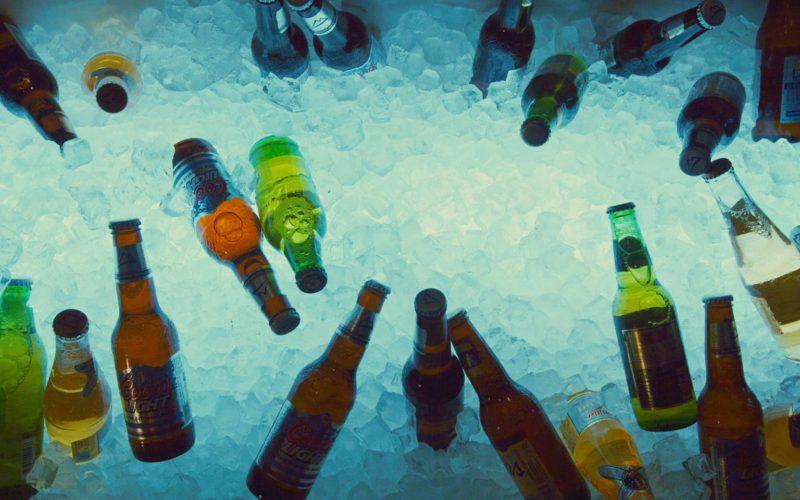 Coors Light Beer Bottles in 127 Hours