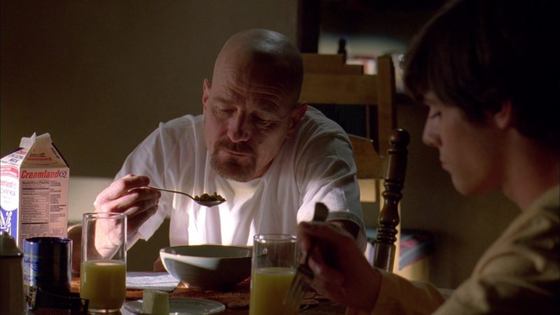 Creamland Milk in Breaking Bad Season 3 Episode 4: Green Light (2010) TV Show Product Placement