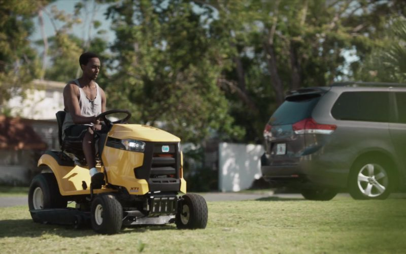 Cub Cadet XT1 Lawn Tractor Used by Edi Gathegi (Ronald Dacey) in StartUp (2)