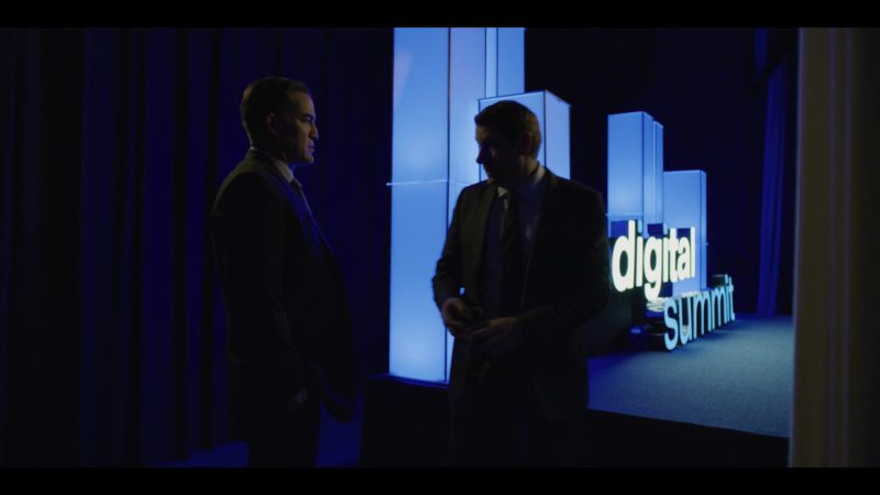 Digital Summit in House of Cards Season 6 Episode 7 Chapter 72 (2018) - TV Show Product Placement
