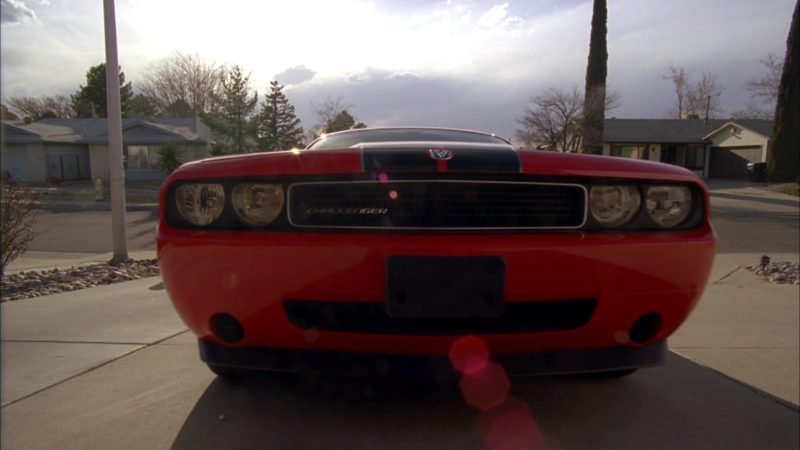 "Dodge Challenger Car Used by RJ Mitte (Walter White Jr.) in Breaking Bad Season 4 Episode 6 ""Cornered"" (2011) - TV Show Product Placement"