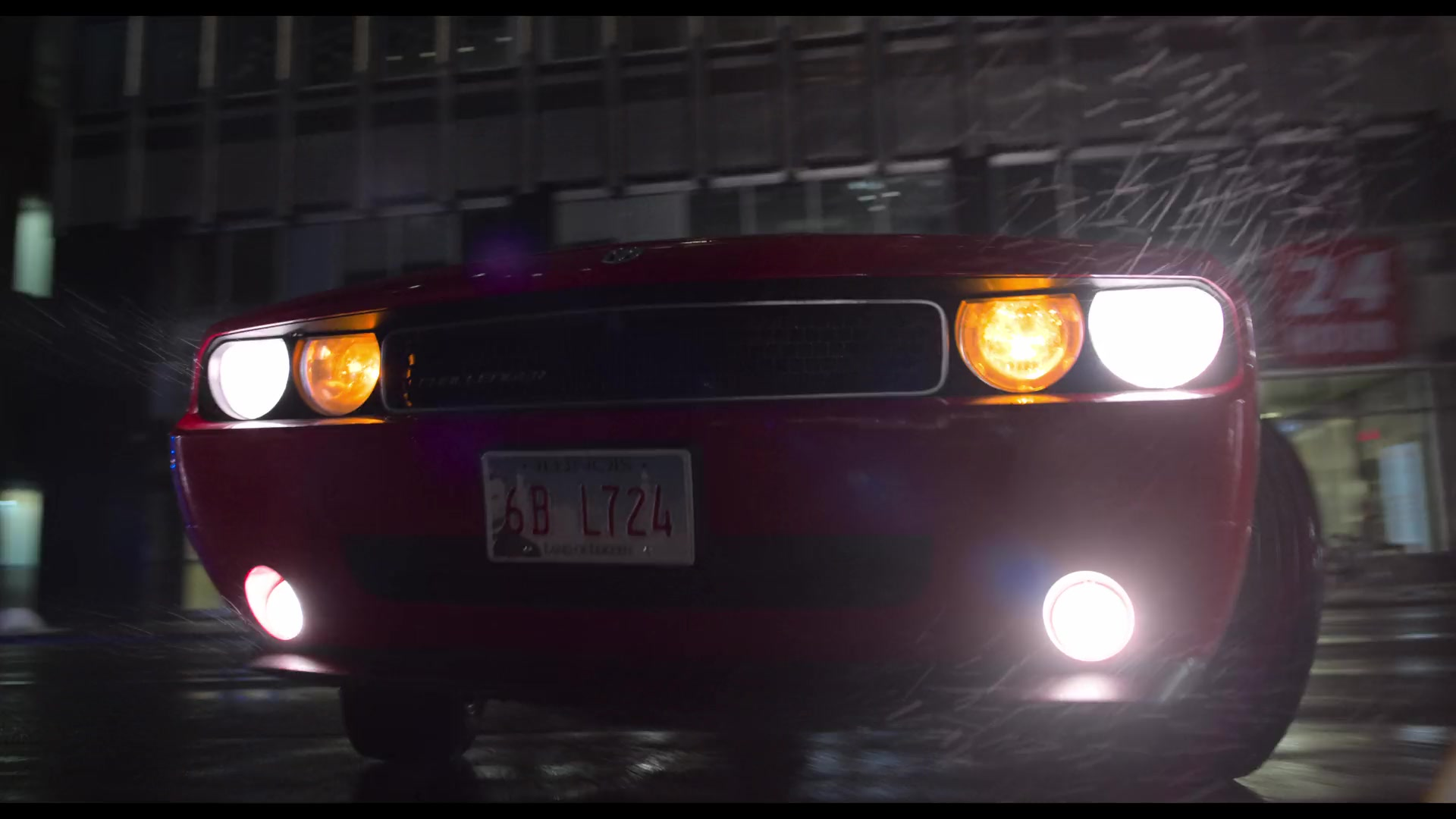 Dodge Challenger Car In The Christmas Chronicles 2018 Movie