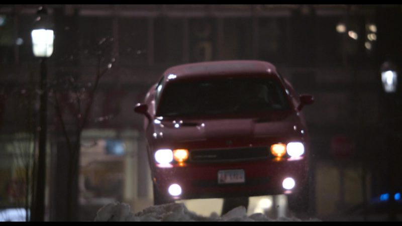 Seen In The Movie Dodge Challenger Car In The Christmas