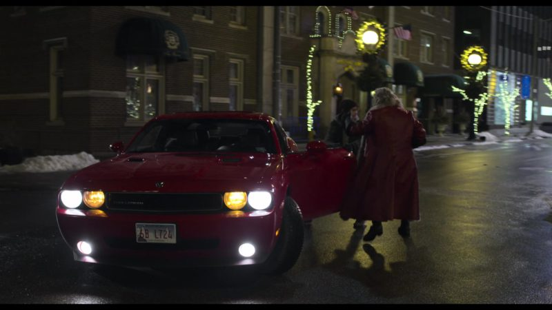Dodge Challenger Car in The Christmas Chronicles (2018) Movie Product Placement