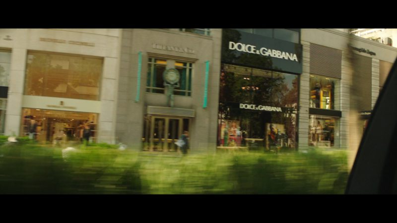Dolce & Gabbana Store in The Romanoffs Season 1 Episode 6: Panorama (2018) TV Show Product Placement