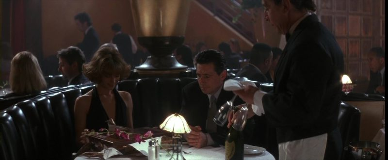 Dom Pérignon Champagne in Point of No Return (1993) - Movie Product Placement