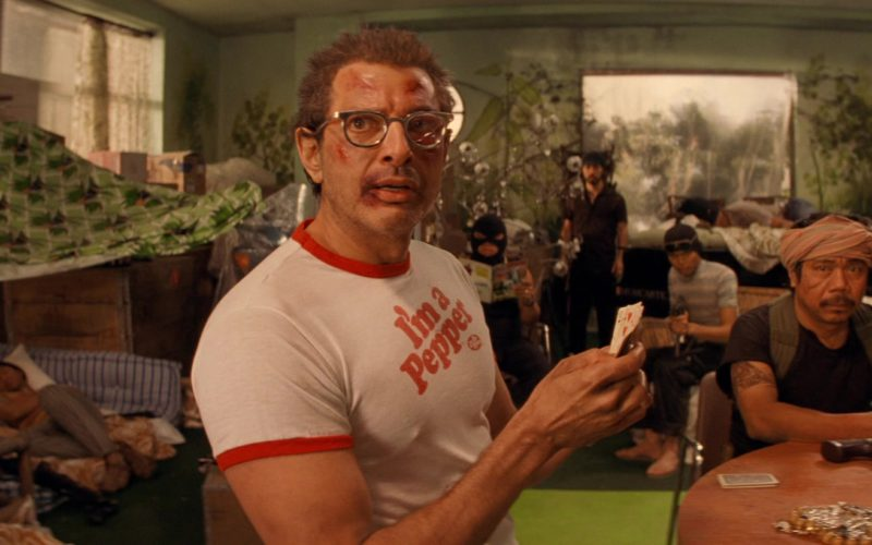 Dr Pepper I'm a Pepper Tee Shirt Worn by Jeff Goldblum in The Life Aquatic with Steve Zissou (1)