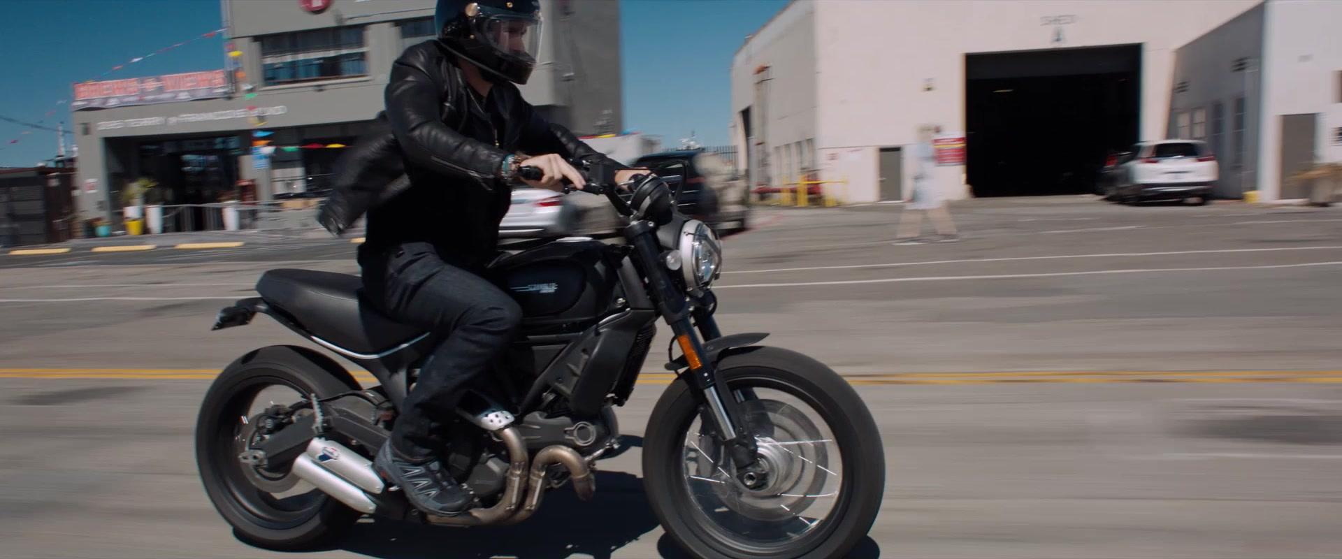 Ducati Scrambler Motorcycle Used by Tom Hardy in Venom (2018)