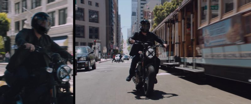 Ducati Scrambler Motorcycle Used by Tom Hardy in Venom (2018) - Movie Product Placement