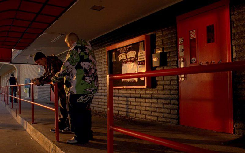 Ed Hardy Men's Pants in Breaking Bad Season 3 Episode 5 (1)