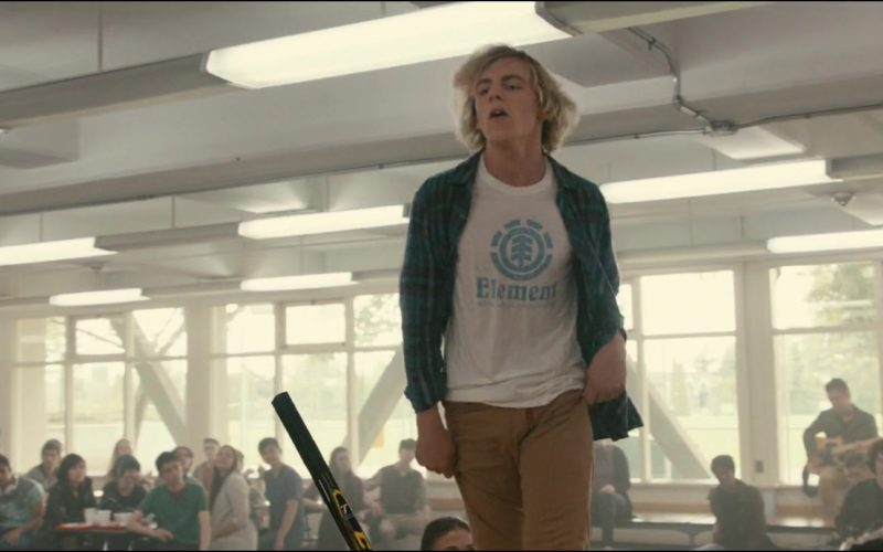Element White T-Shirt Worn by Ross Lynch in Status Update (1)
