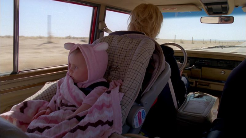 "Evenflo Baby Car Seat in Breaking Bad Season 4 Episode 6 ""Cornered"" (2011) - TV Show Product Placement"