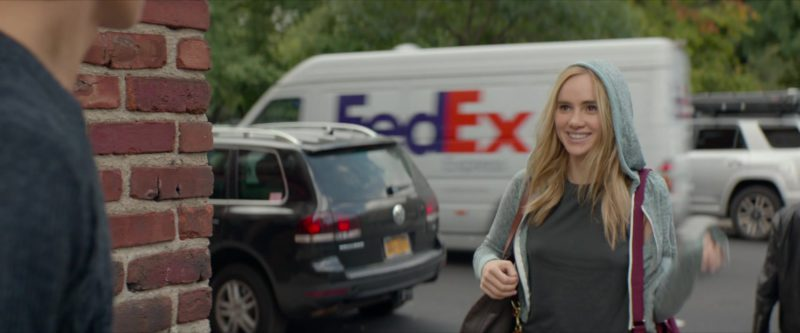 FedEx Courier Car in Jonathan (2018) Movie Product Placement