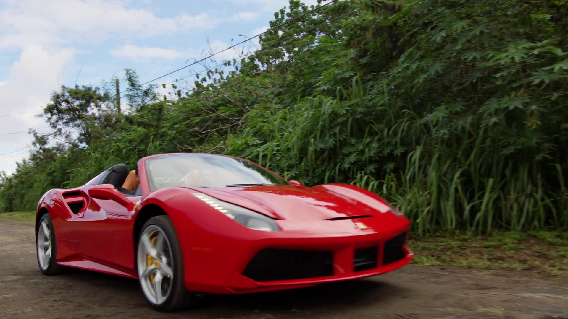 Exotic Car Brands >> Ferrari 488 Spider Red Sports Car Used by Jay Hernandez in ...