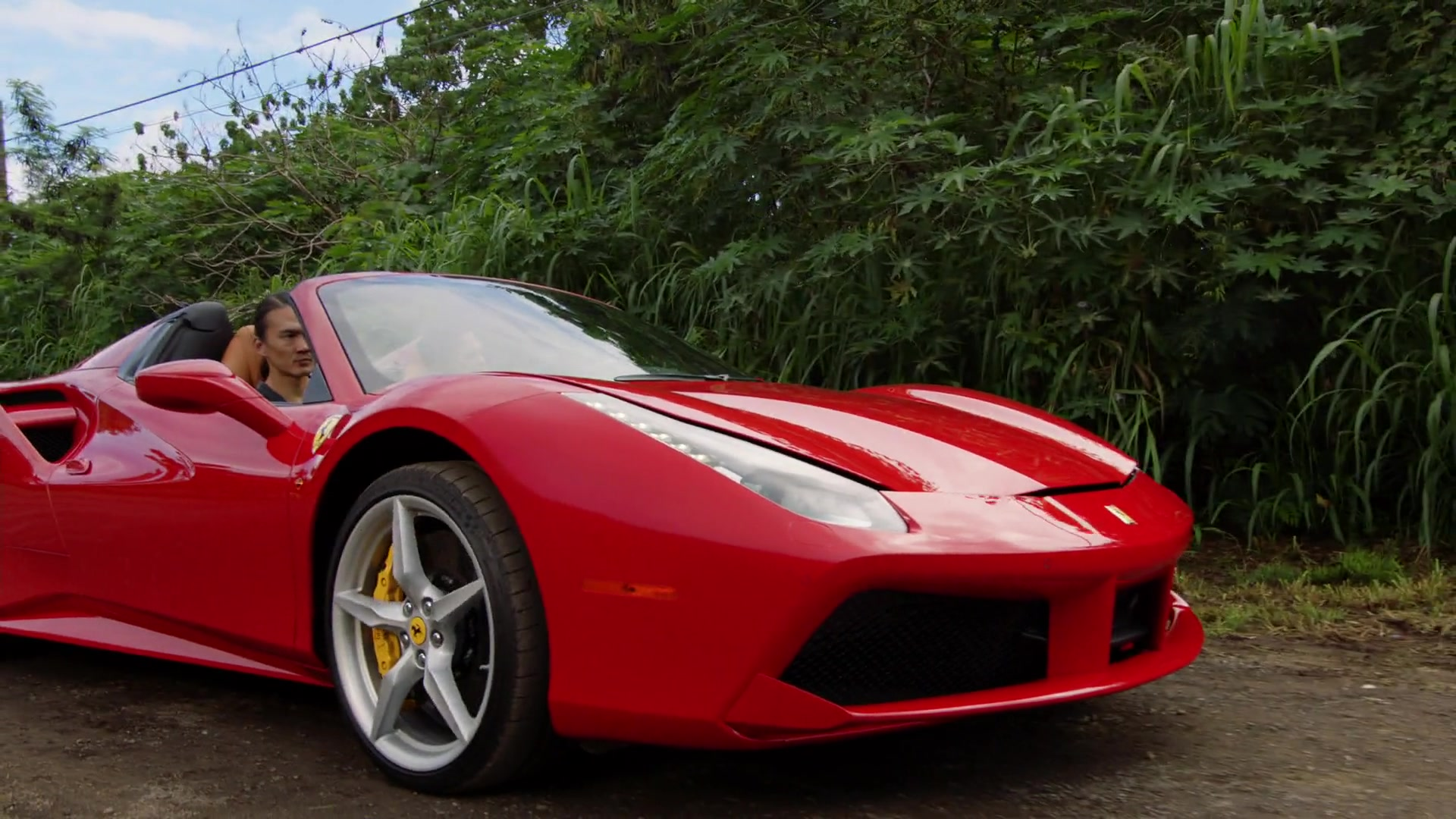 Used Alfa Romeo >> Ferrari 488 Spider Red Sports Car Used by Jay Hernandez in Magnum P.I. Season 1 Episode 8: The ...