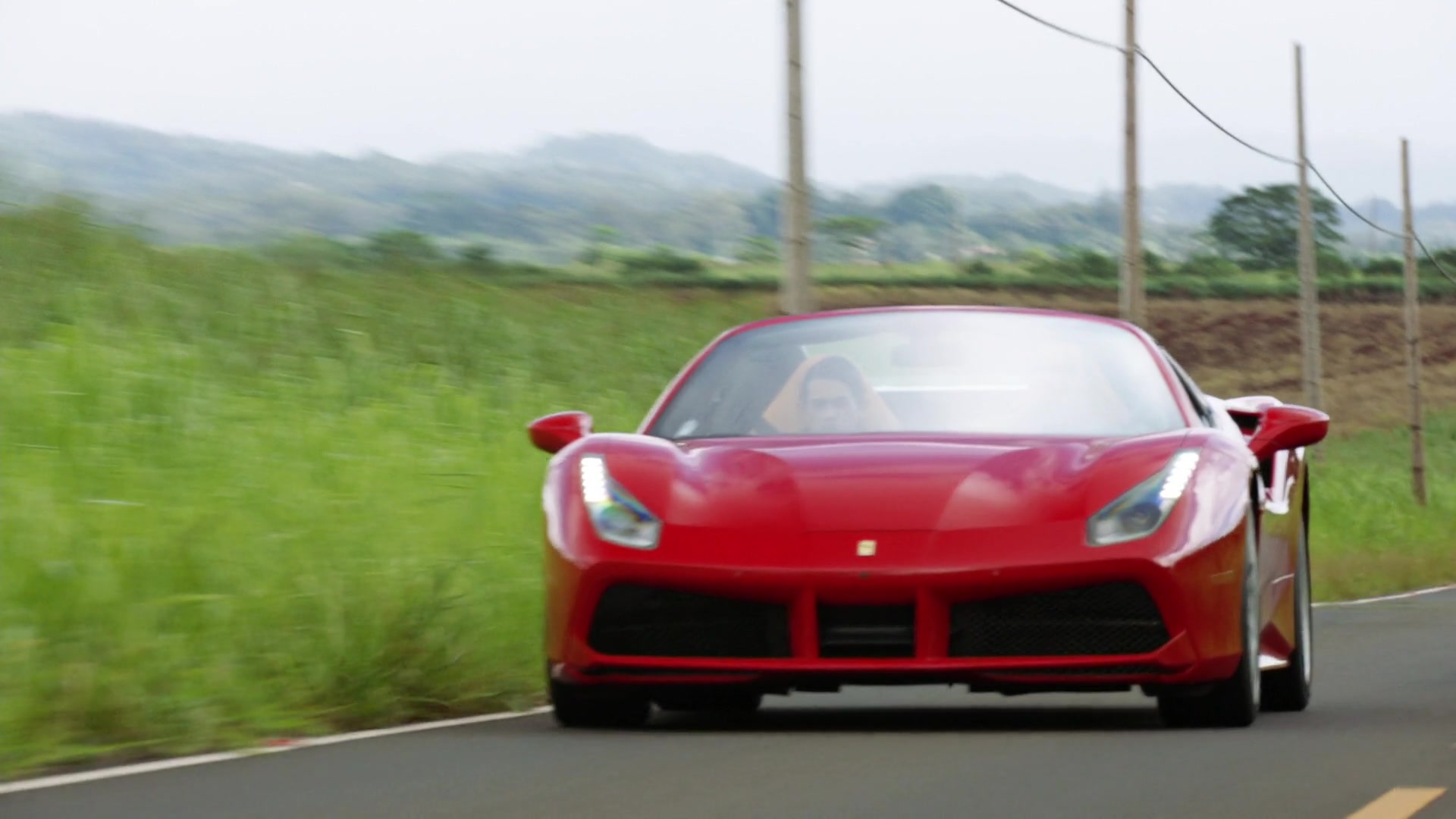 Used Cars Hawaii >> Ferrari 488 Spider Red Sports Car Used by Jay Hernandez in ...