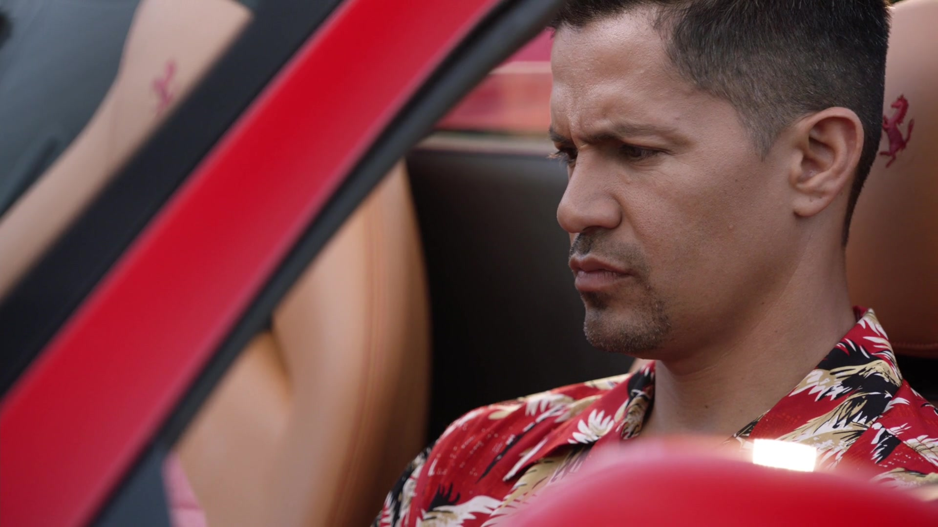 Ferrari 488 Spider Red Sports Car Used by Jay Hernandez in ...