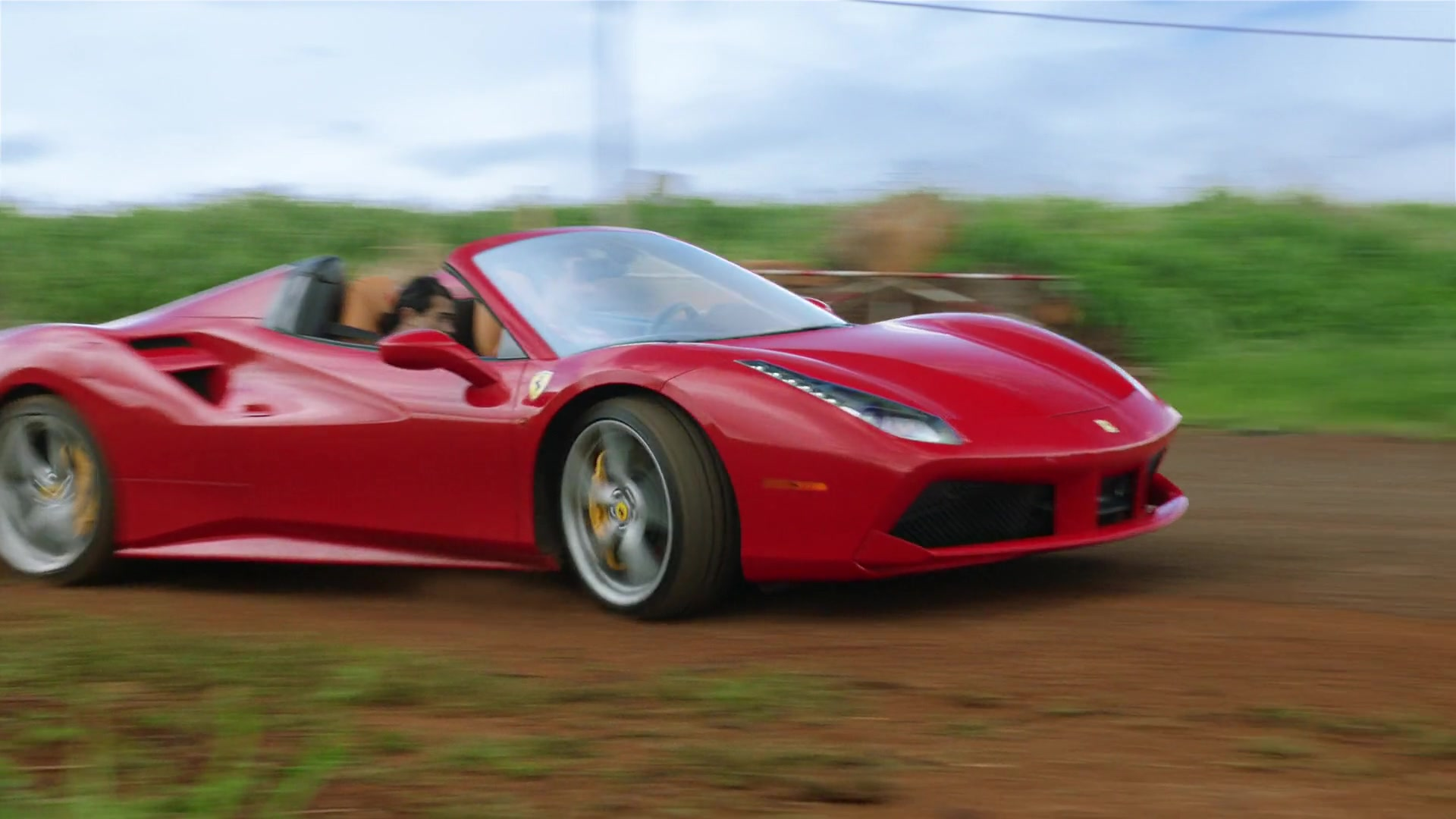 Ferrari 488 Spider Red Sports Car Used by Jay Hernandez in Magnum P.I. Season 1 Episode 8: The ...