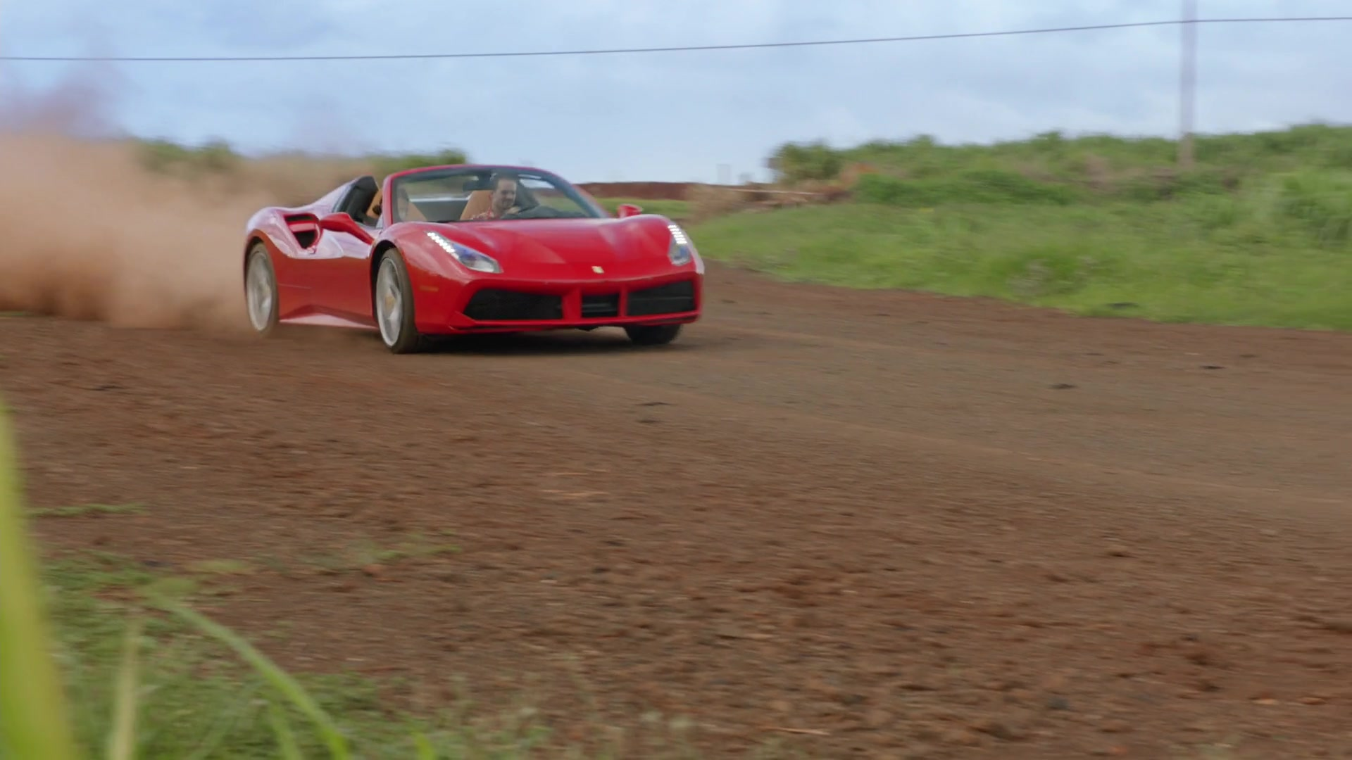 2016 Dodge Magnum >> Ferrari 488 Spider Red Sports Car Used by Jay Hernandez in Magnum P.I. Season 1 Episode 8: The ...