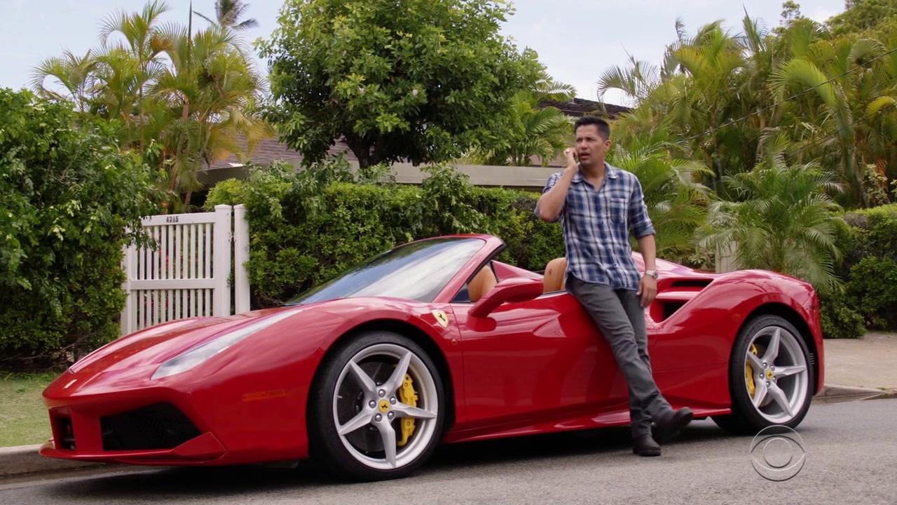 New BMW 7 Series >> Ferrari Red Sports Car Used by Jay Hernandez (Thomas ...