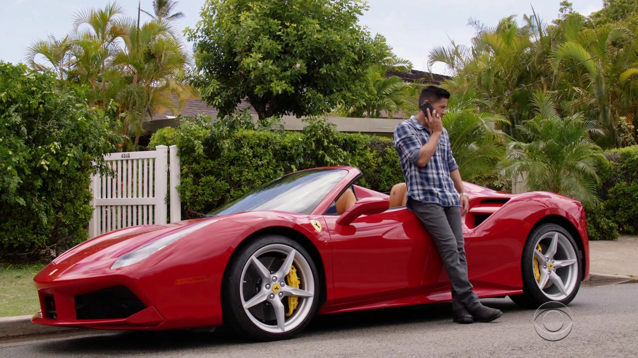 Ferrari Red Sports Car Used By Jay Hernandez Thomas