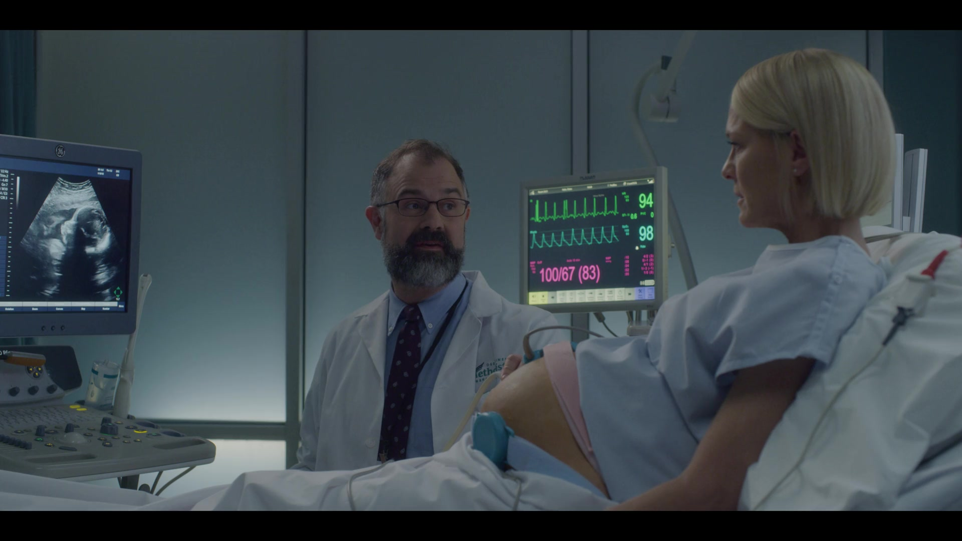 Ge Pregnancy Ultrasound Ultrasonography Machine Used By Robin Wright Claire Underwood In