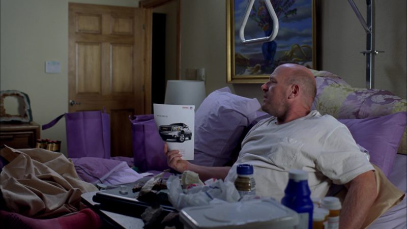 "GMC SUV Magazine Advertising in Breaking Bad Season 4 Episode 3 ""Open House"" (2011) TV Show Product Placement"