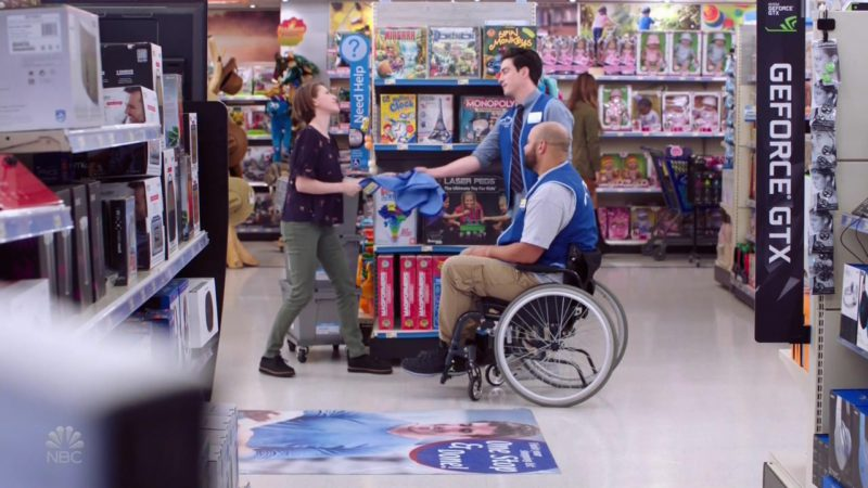 Geforce GTX by Nvidia in Superstore: Maternity Leave (2018) - TV Show Product Placement
