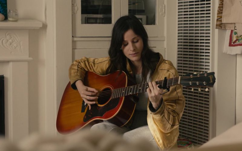 "Gibson Guitar Used by Sasha Spielberg in ""In A Relationship"" (1)"