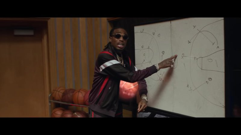 "Givenchy Tracksuit Jacket Worn by Quavo in ""HOW BOUT THAT?"" (2018) Official Music Video Product Placement"
