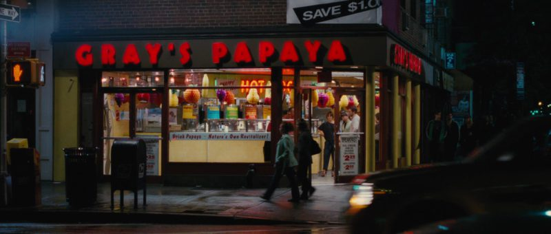 Gray's Papaya Restaurant and Food in The Back-up Plan (2010) Movie Product Placement