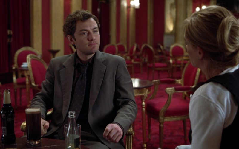 Guinness Beer Drunk by Jude Law in Closer (1)
