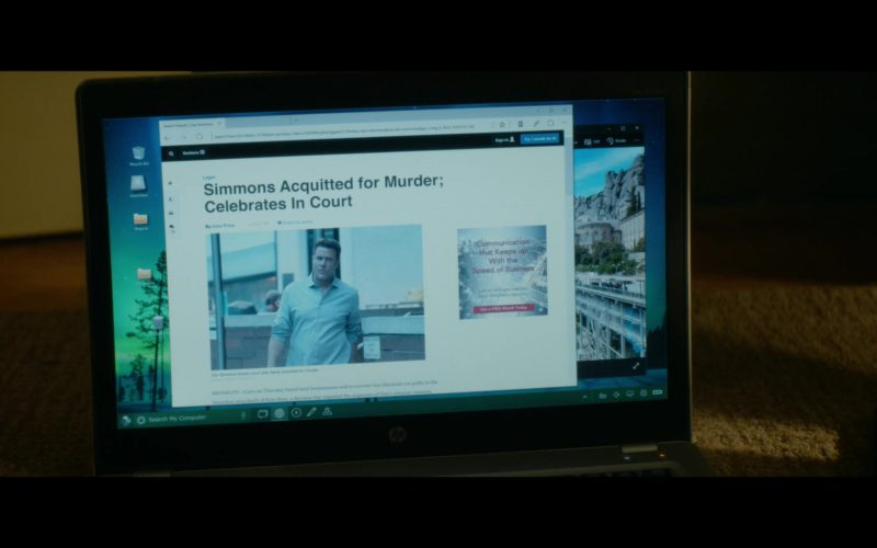 HP Laptop Used by Dania Ramirez in Tell Me A Story Season 1 Episode 2
