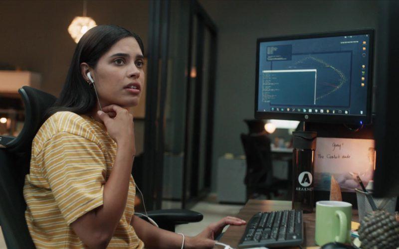 HP Monitor Used by Otmara Marrero (Izzy Morales) in StartUp Season 3 Episode 9