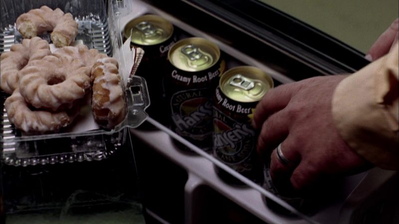Hansen's Creamy Root Beer Soda Soft Drink in Breaking Bad Season 2 Episode 3: Bit by a Dead Bee (2009) TV Show Product Placement