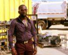 Hermes Men's Belt and Cazal Sunglasses in MacGyver Season 3 Episode 7 (3)