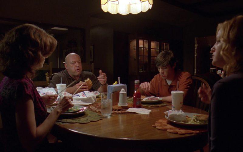 Hunt's Tomato Ketchup in Breaking Bad Season 3 Episode 2