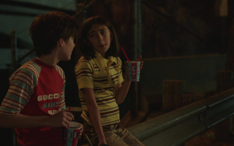 "Icee Beverage in The Romanoffs Season 1, Episode 5, ""Bright and High Circle"" (3)"